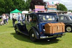布罗姆利, LONDON/UK - 6月07日:布罗姆利壮丽的场面开汽车 最大的一天经典车展 图库摄影