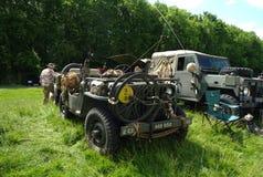 布罗姆利, LONDON/UK - 6月07日:布罗姆利壮丽的场面开汽车 最大的一天经典车展 免版税图库摄影