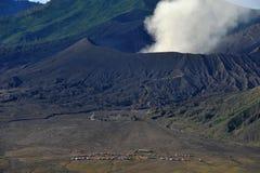 布罗莫火山火山口,东爪哇省,印度尼西亚 库存照片