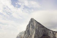 直布罗陀岩石 免版税库存图片