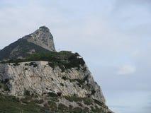 直布罗陀岩石 免版税图库摄影