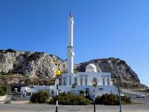 直布罗陀穆斯林清真寺 库存照片
