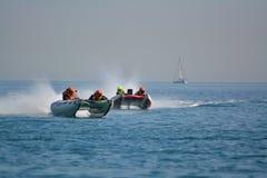 直布罗陀-雷猫赛跑的欧洲冠军2014年 免版税库存照片