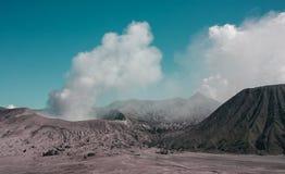 布罗mo火山 库存照片