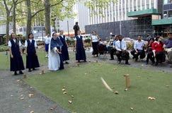 布耐恩特公园,纽约城 免版税库存照片