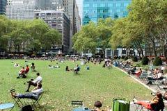 布耐恩特公园,纽约城 免版税库存图片