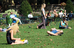 布耐恩特公园,纽约 库存图片