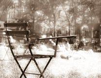 布耐恩特椅子新的公园公共约克 免版税库存图片
