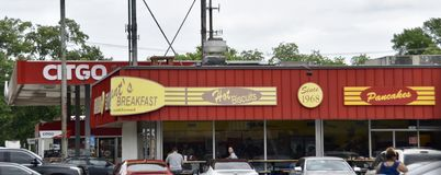 布耐恩特的早餐餐馆,孟菲斯,TN 免版税库存图片