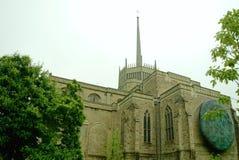 布莱克本大教堂 库存图片