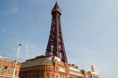 布莱克浦横向塔 免版税库存照片