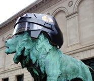 布莱克霍克斯盔甲在芝加哥 免版税库存图片