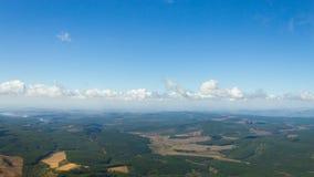 布莱德河峡谷全景从 免版税库存照片