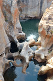 布莱德河峡谷美丽的景色  免版税图库摄影