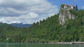 布莱德湖和城堡 影视素材