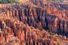 布莱斯峡谷国家公园,美国不祥之物风景  库存图片