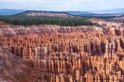 布莱斯峡谷国家公园-不祥之物 免版税图库摄影