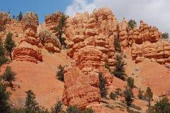 布莱斯峡谷国家公园 免版税库存图片