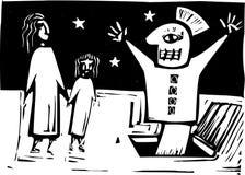 布袋木偶 免版税库存照片