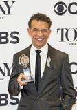 布赖恩升火米歇尔获得特别奖在第70 Tonys 库存图片