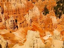 布赖斯传奇人民的峡谷面孔 免版税库存图片