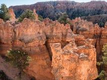 布赖斯峡谷不祥之物捉迷藏足迹,犹他 免版税库存照片