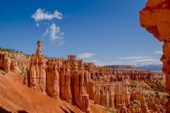 布赖斯峡谷国家公园犹他 免版税库存图片