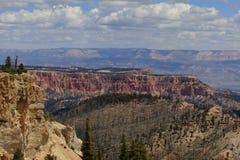 布赖斯峡谷景色 库存照片