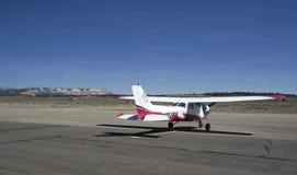 布赖斯峡谷机场 库存图片