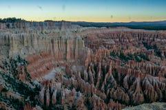 布赖斯峡谷NP在美国 库存图片