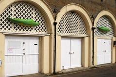 布赖顿俱乐部皮船沿海岸区英国 免版税库存照片