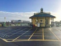 布赖顿宫殿码头在布赖顿 免版税库存照片