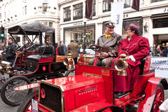 布赖顿汽车活动伦敦运行 免版税图库摄影