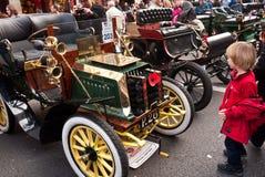 布赖顿汽车活动伦敦运行 库存照片