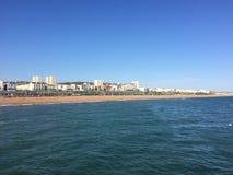 布赖顿沿海岸区 库存图片