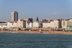 布赖顿沿海岸区 免版税库存图片