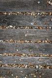 布赖顿海滩小卵石背景 库存图片