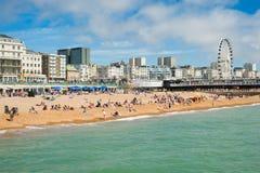 布赖顿海滩 免版税图库摄影