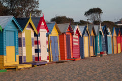 布赖顿海滩 库存照片