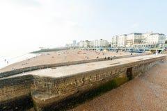 布赖顿海滩 图库摄影