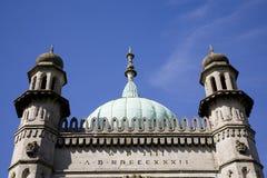 布赖顿皇家详细资料的亭子 免版税库存图片