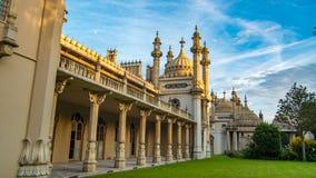 布赖顿皇家pavillon的看法 免版税库存图片