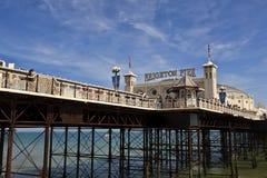 布赖顿码头 图库摄影