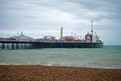 布赖顿码头 免版税图库摄影