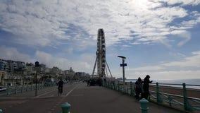 布赖顿码头在英国 免版税库存图片