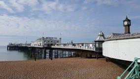 布赖顿码头在英国 库存照片
