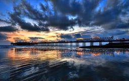 布赖顿码头 免版税库存图片