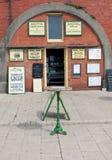 布赖顿,英国- 2010年8月15日:传统s的外视图 免版税库存照片