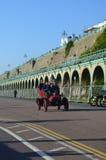 布赖顿经验丰富的汽车奔跑的伦敦2015年 免版税库存照片