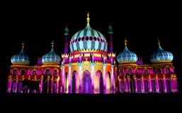 布赖顿` s皇家穹顶宫,布赖顿节日, 2016年, U K 免版税库存照片